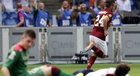 Liga Italiana: Roma ganó y se trepó a la cima