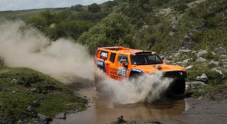 Dakar 2013: pararon la etapa entre La Rioja y Fiambalá