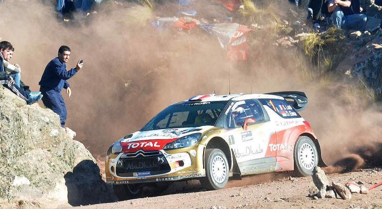 Seabastian Loeb gano el Rally Argentina 2013
