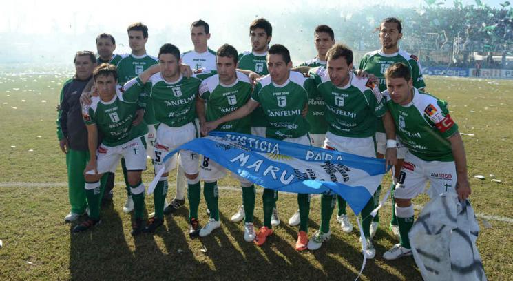 Sportivo empató con Santamarina y logró el ascenso al Nacional B (Foto: Facundo Luque).